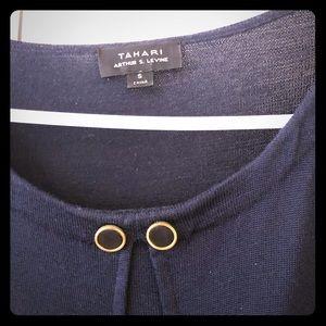 Tahari knee length dress. 28% wool and 72% Acrylic